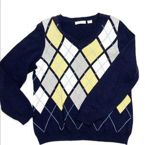 ❄️3/$30! Liz Claiborne Argyle Sweater